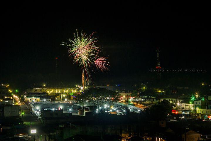 guatemala fireworks nikon night travel