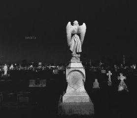 photography blackandwhite cemetery statue nikon