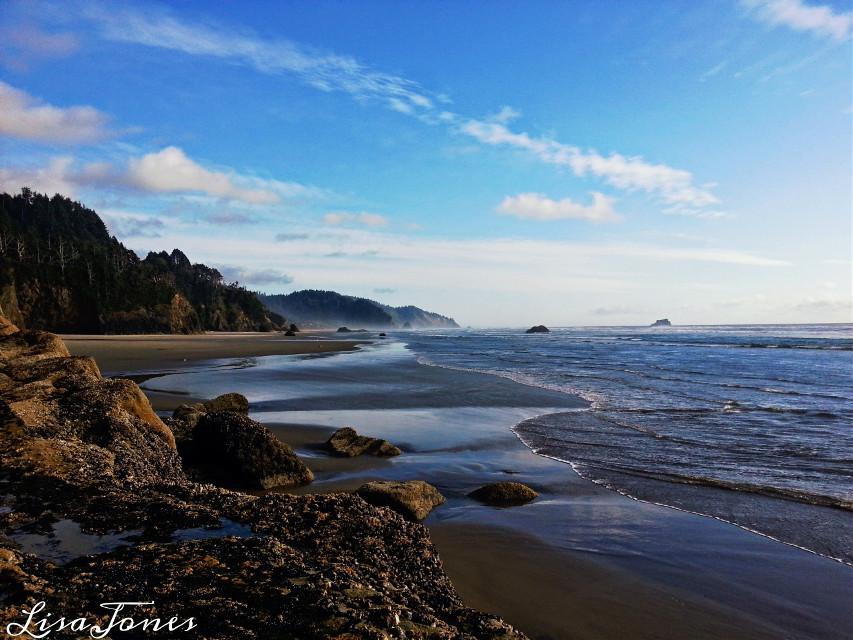 I love the Oregon coast! So beautiful ✌💛😊 #landscape #beach  #photography  #nature #Oregon  #travel
