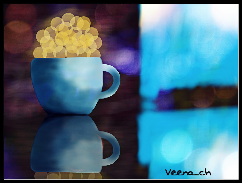 Timepass 2nd quick draw #cup #coffee #bokeh #drawing #mydrawing #art #digitalart #digitaldrawing