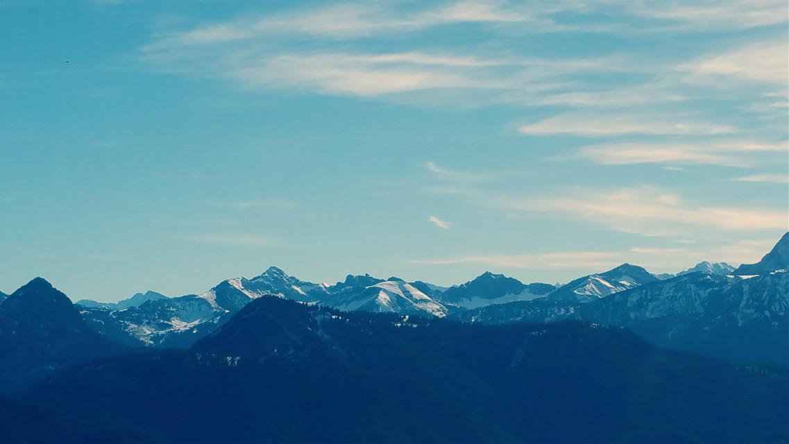 Bavaria autumn mountains #mountains #autumn #bavarian #travel