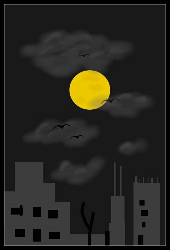 #draw  #night  #dark  #spherical   #freetoedit