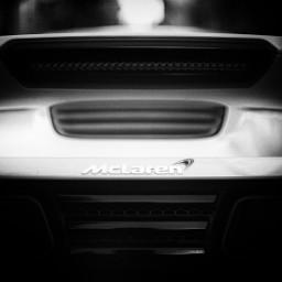 mclaren racing racecar monochrome blackandwhite
