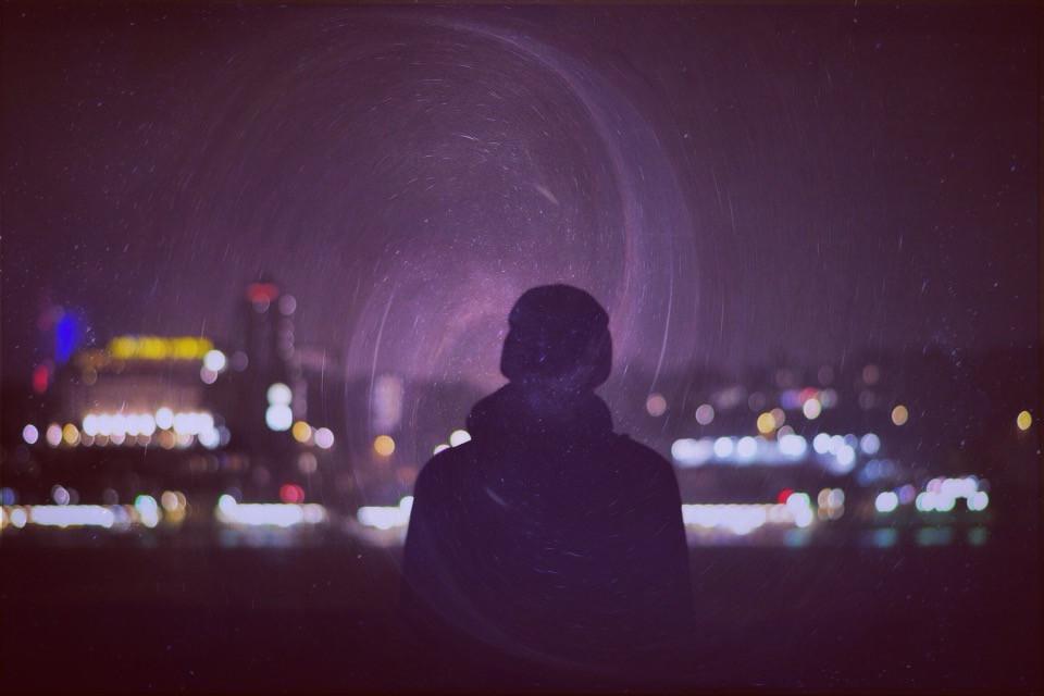 Experimental 🌌 #night #potrait #edit #stars #blackhole #editedpotrait #hipster #experimental #citybynight