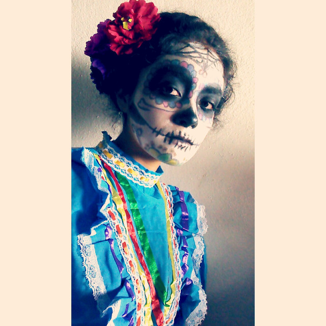 #Diademuertos  #mexicansbelike  #november  #celebrate   #colorful   #catrina  #dayofthedead