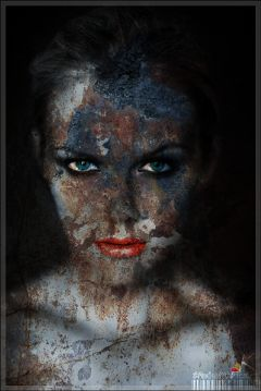 fterust blackandwhite cute girl rust