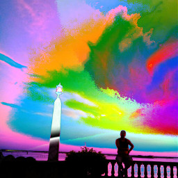 negativeeffect sunset horizon photography curvetool