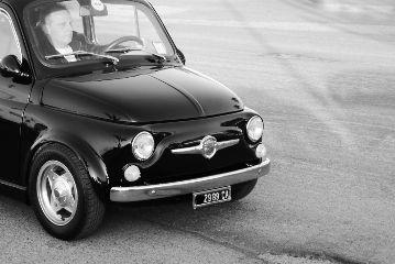 photography cars blackandwhite