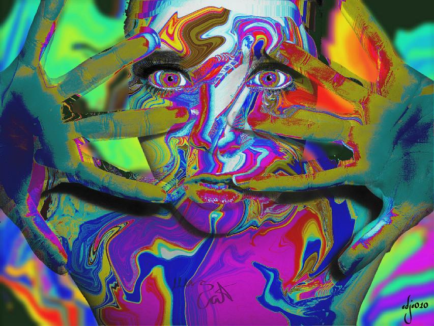 My edit for @mrscat0 #wapwarped #edited #editstepbystep #artistic #artisticselfie used a old tutorial from  @paolomore