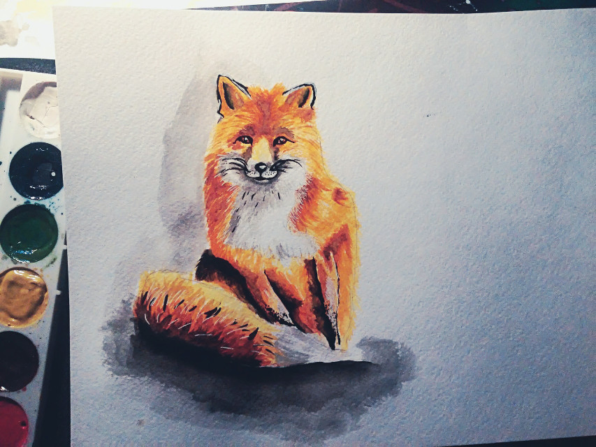 #art #animal  I first drew the animal Я вперше намалювала тварину