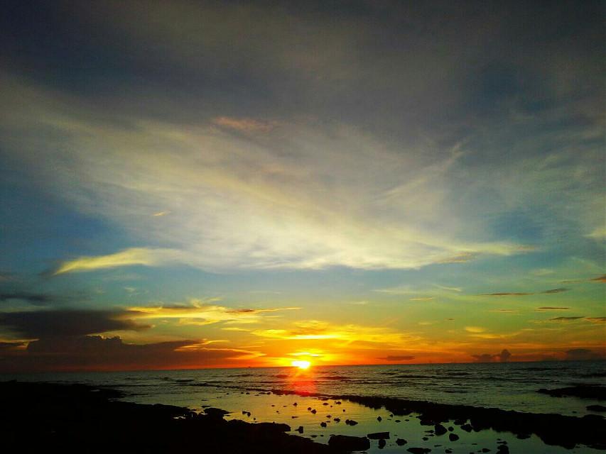 #sunset #beach #nature #photography #panorama #beautiful #sand #clouds