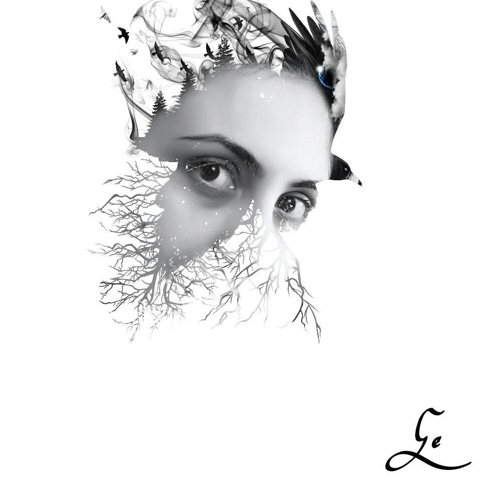 I wonder if I can...  #surreal #illustration #undefined #emotions #people #petsandanimals