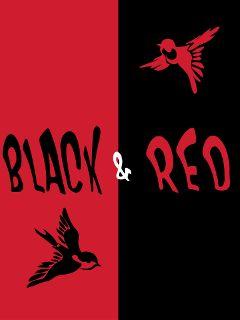 black red beautiful bestcolours birds