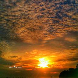 sunrise love sky nature like4like