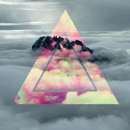 hipster triangles wallpaper phonescreen nature