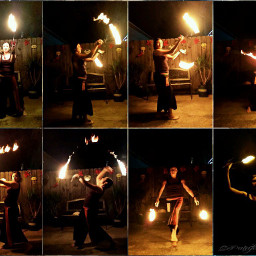 bebrave gdactioncollage emotions photography fire