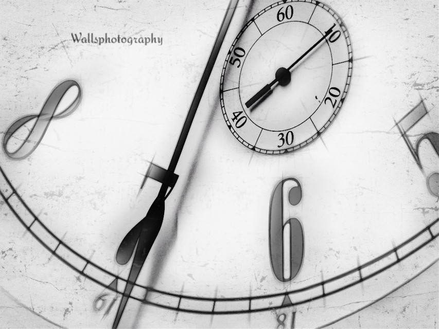 #photography #time #clock #texture #drawingtool #hicon