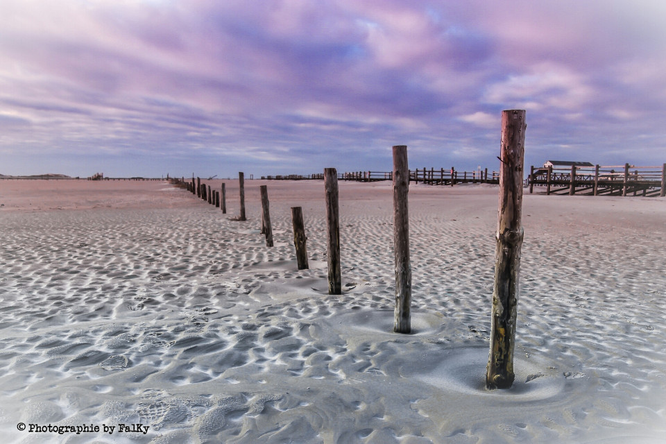 Sankt Peter Ording, Germany  #emotions #love #nature #colorful #beach
