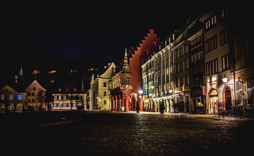 #freiburgimbreisgau #münsterplatz #night