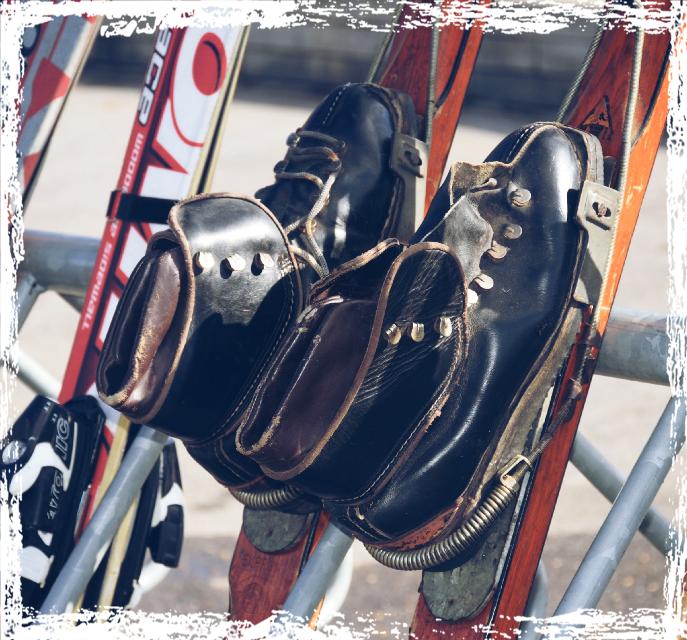 #ski #old #photography #retro