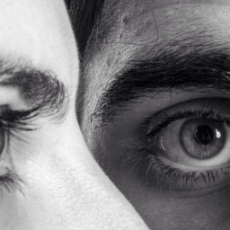 photogtaphy art love eyes blackandwhite