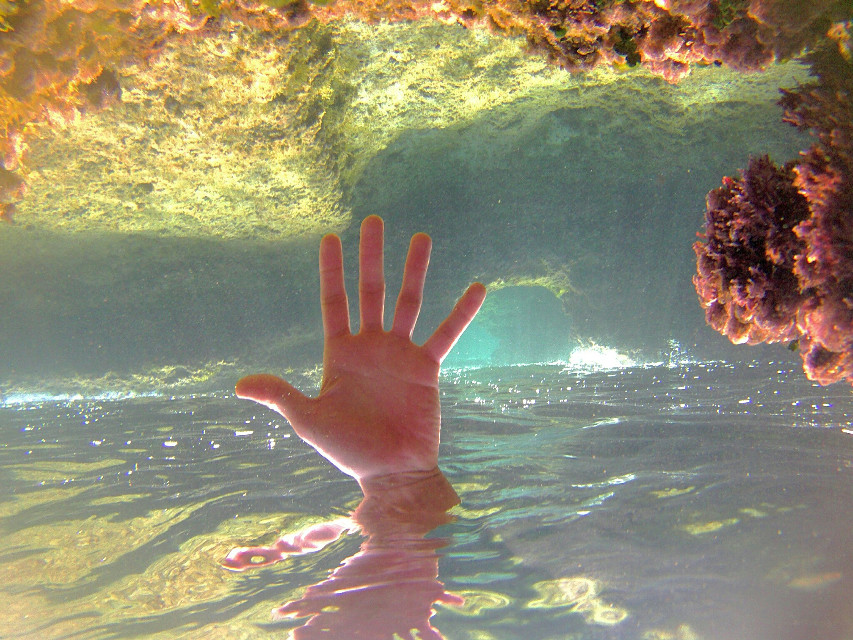 #photography  #sea#upsidedown my hand