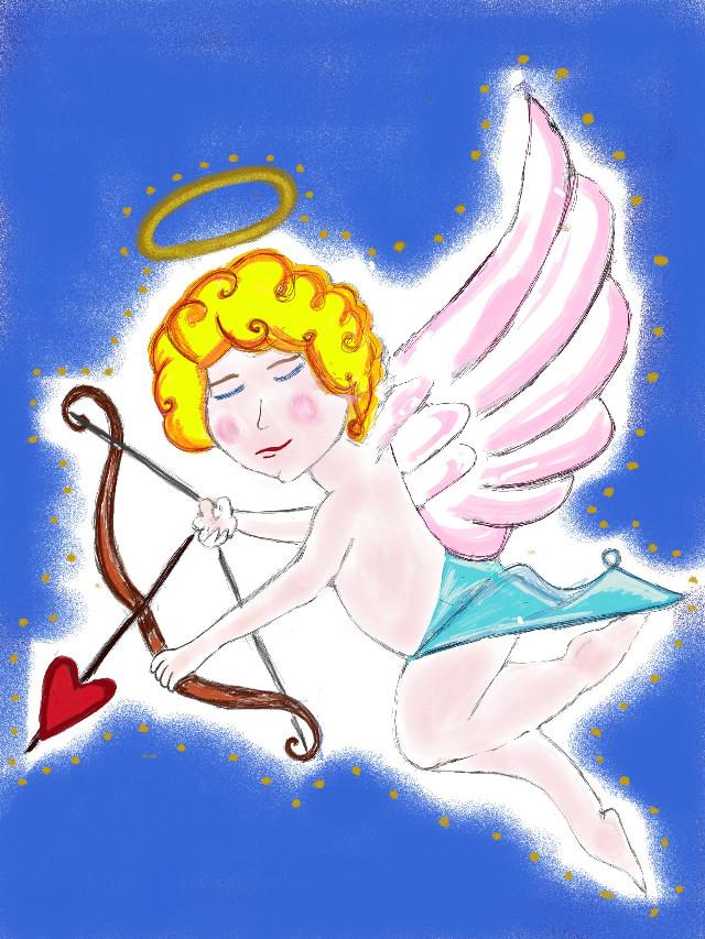 My #wdpcupid #angel #happyvalentine ♡♡♡