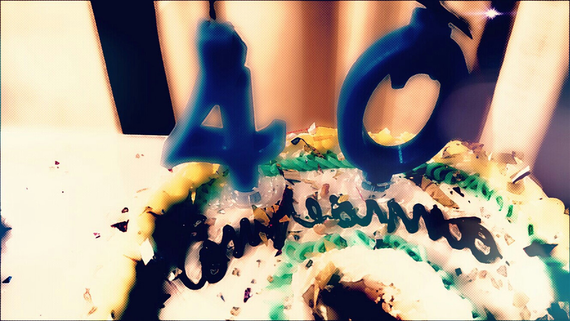 #40years #happybirthday #birthday #cake #40anni  #buoncompleanno #compleanno #torta (Festa non personale)    (birthday isn't my)