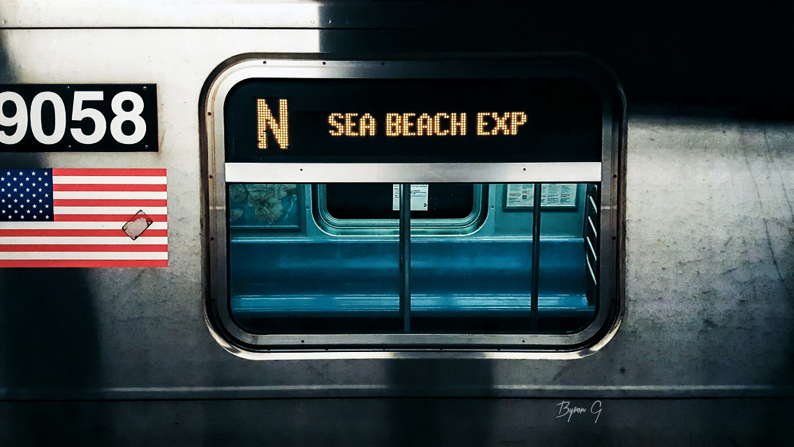 """Sea Beach Express"" #jj_theyards #tv_rails"