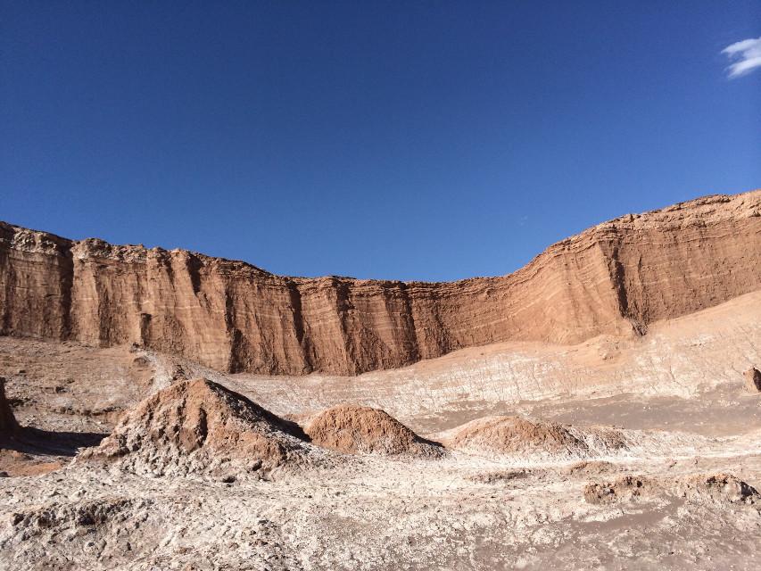 Where is the green? #sanpedrodeatacama #landscape #sky