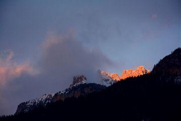 wppfog nature sunrise dolomites italy