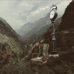clock clocks surreal undefined darkart