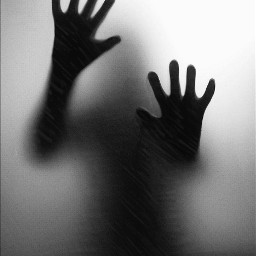 blackandwhite photography thriller silhouette hands