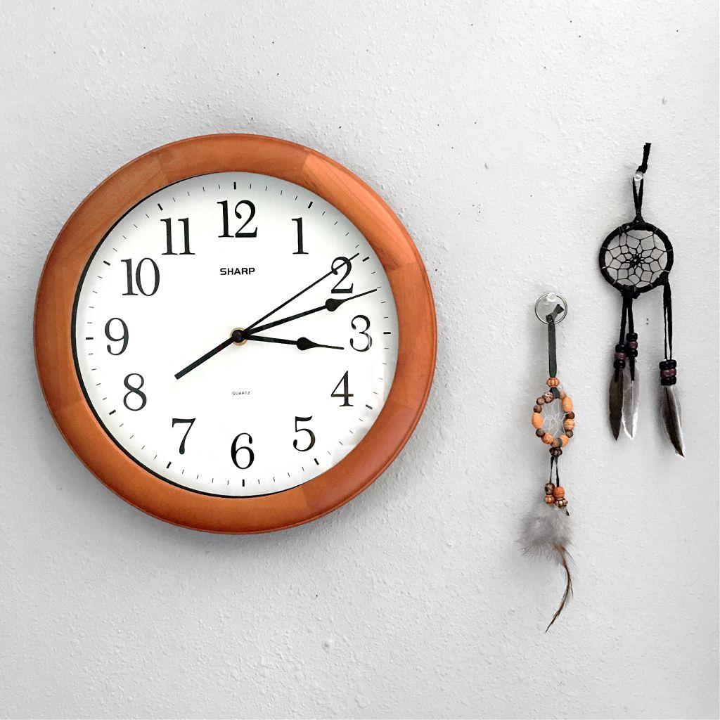 Clock&dream catchers #decor #decorphotography #wallart #wall #clock #dreamcatchers #photography #artsy #artistic #creative #interesting #time