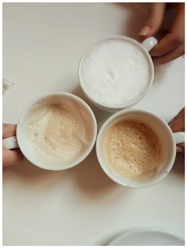 Coffee is more than coffee. It is laughter and chatter, it is gossip and secrets. It is time. Intimacy. Love.☕♡    #breakfast   #DailyInspiration🎉#GoodMorning#SoftColors  #love #coffee #cups #secrets #friendship #friends #white  #food  #cappuccino #macchiato #orzo #minimal