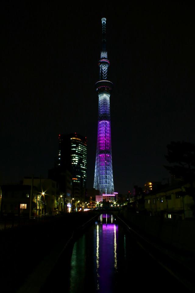 night skytree #japan #photography