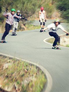 action longboard