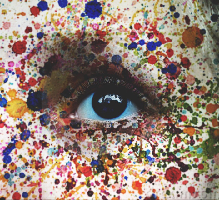 Hellooooo  #interesting #art #splash #splatter #splatterart #colorsplash #colorful #watercolour #watercolor #photography #blue