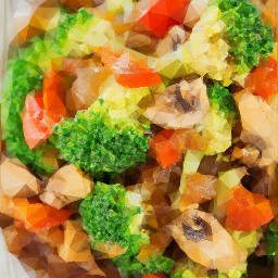 polygon photography food colorful veggies freetoedit