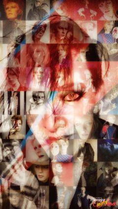 artisticselfie digitalmakeup music davidbowie