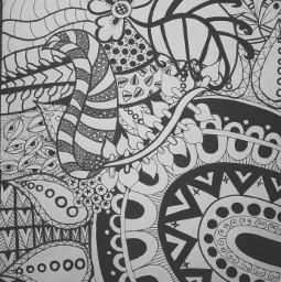 artwork tangleart zentangle