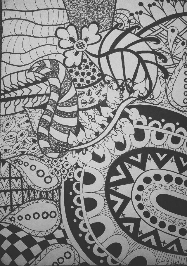 #artwork #tangleart #zentangle