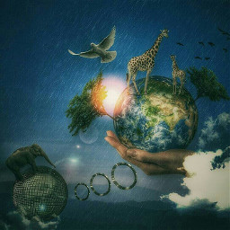 earthday madewithpicsart wapearthinhands edit arts