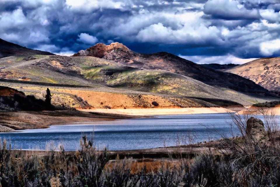 Spring Fling #nature#landscape#lake#spring #lake#colorful#freetoedit