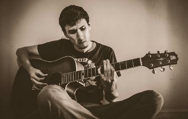 scorpions music guitar sepia vintage