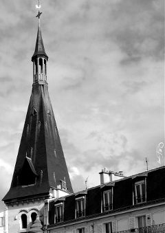 triangles blackandwhite towerbell