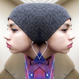 mirror interesting beanie symmetry FreeToEdit