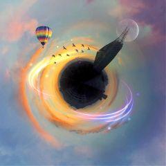 tinyplanet circular art interesting